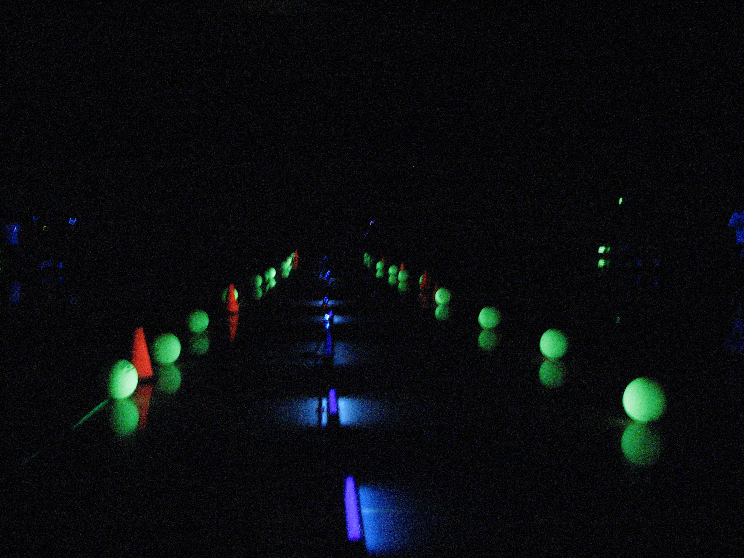 Poway Teen Programming Series 2017 2018 Glow in the Dark Dodgeball Meadowbrook Gymnasium Poway Community Park Fun Glowsticks Games