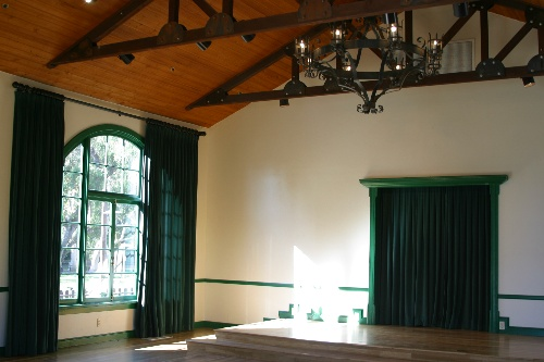 Inside Templars Hall