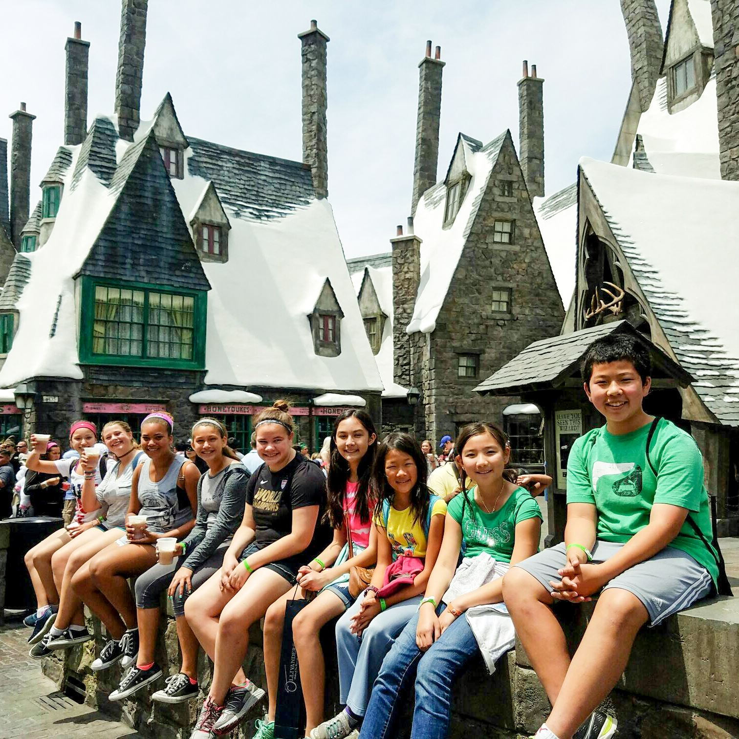 Poway Teen Excursion Universal Studios Wizarding World Harry Potter
