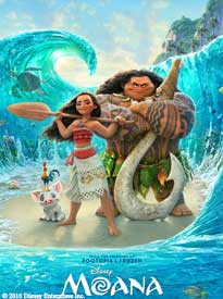 Moana 2017 Summer Movies in the Park Series Poway Community Park Free Family Friends Pet Friendly