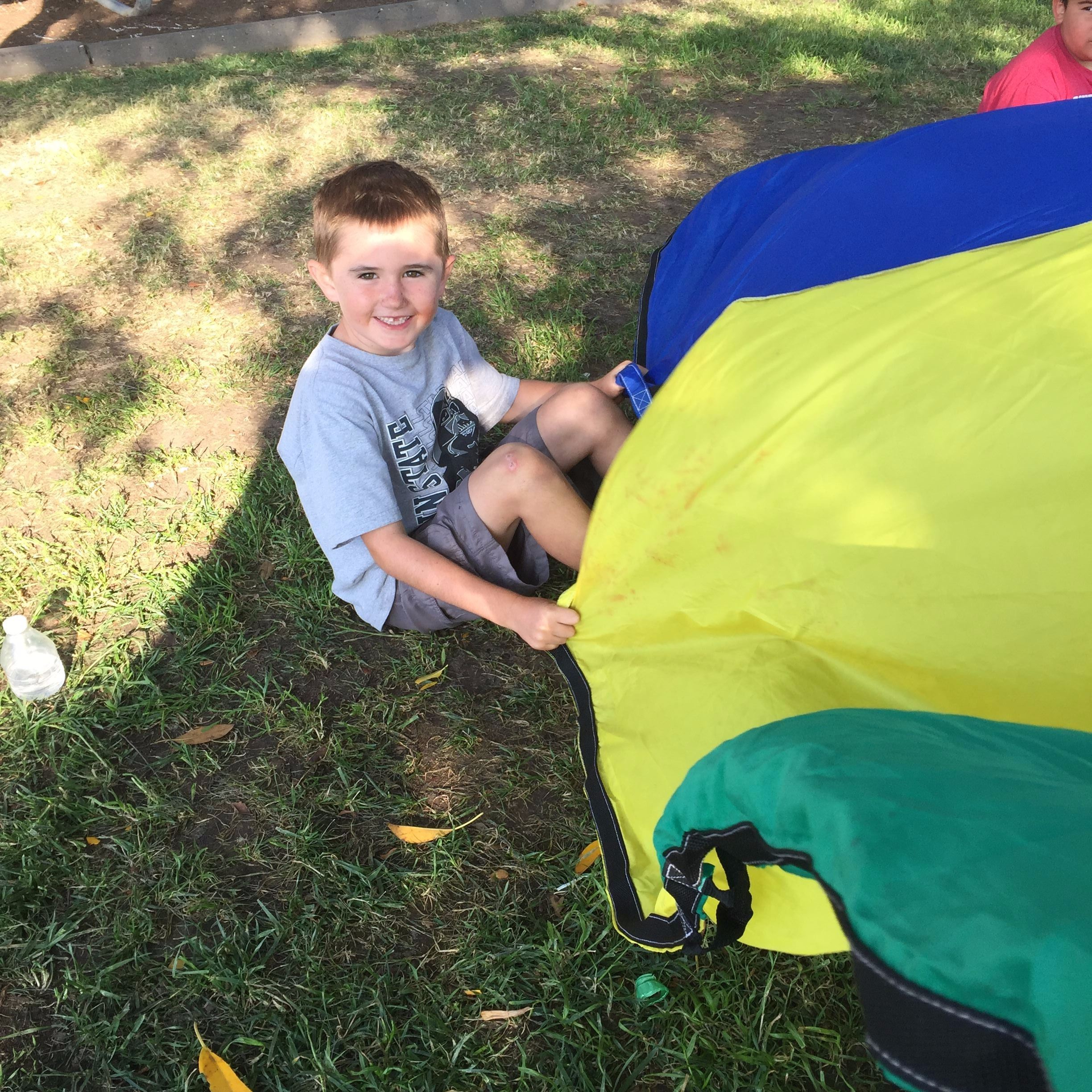 Kids Night Out Parachute Fun