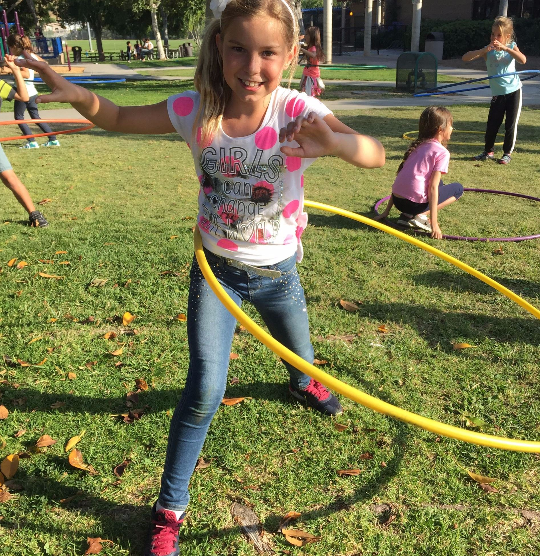 Kids Night Out Hula Hoop Fun