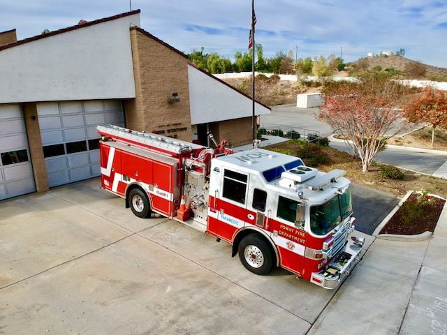 Fire Engine 3712 - 2006 Pierce Dash