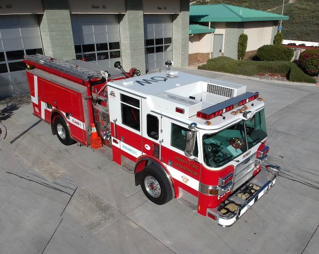 Fire Engine 3713 - 2010 Pierce Arrow XT