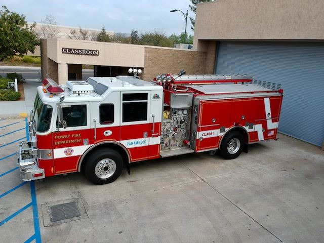 Fire Engine 3721 (Reserve) - 2002 Pierce Dash