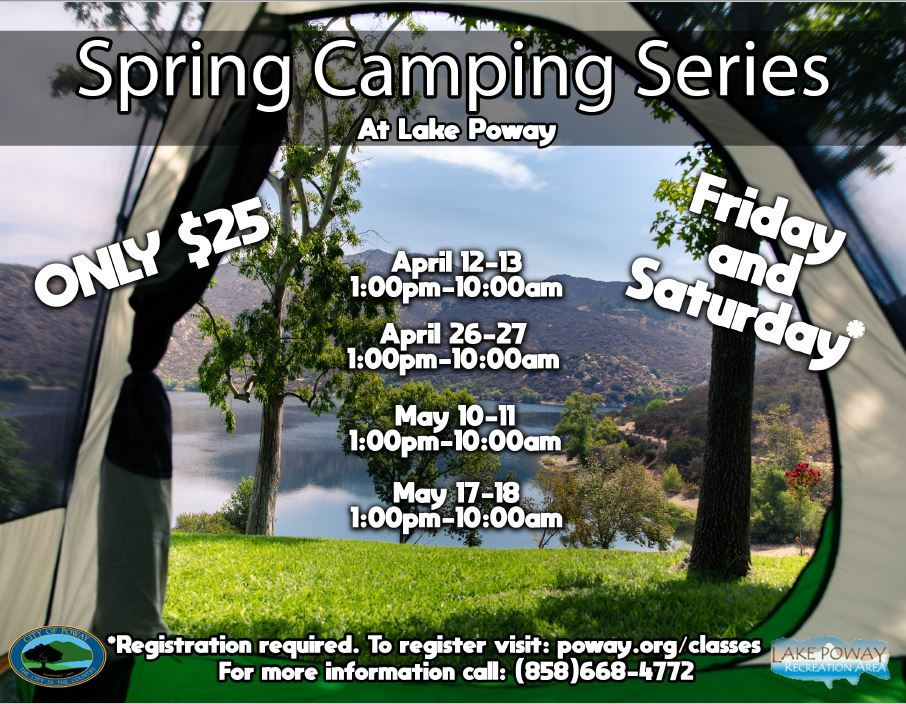 Spring Camping Flyer