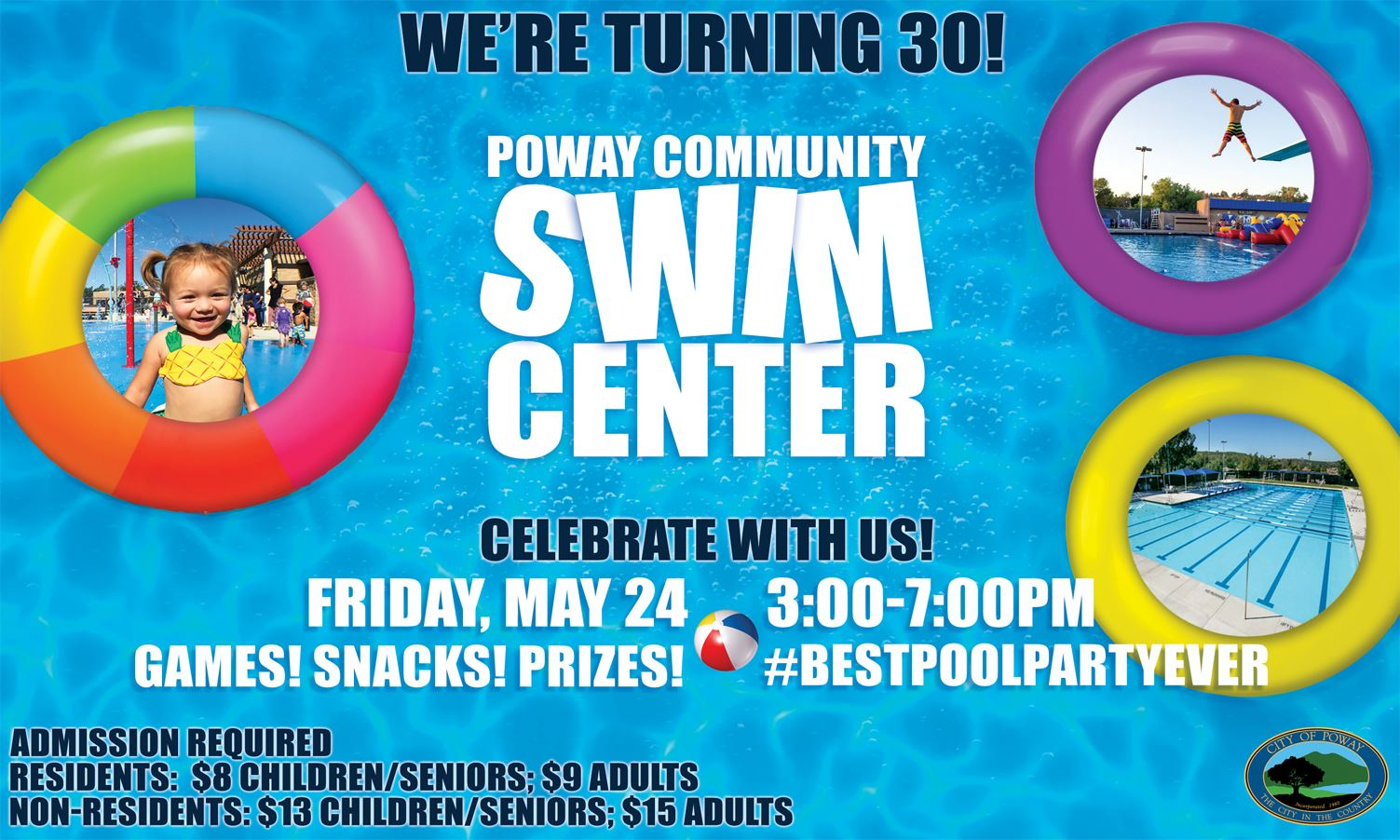 30th Swim Center Party