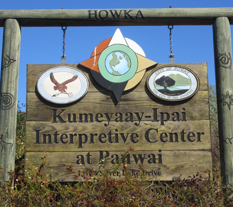 Kumeyaay sign