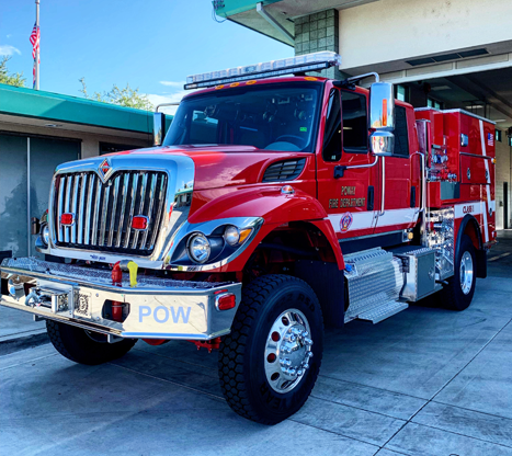 Poway Fire new brush engine