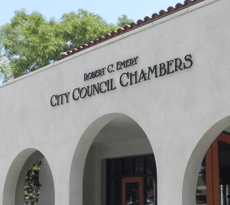 Council Chambers building