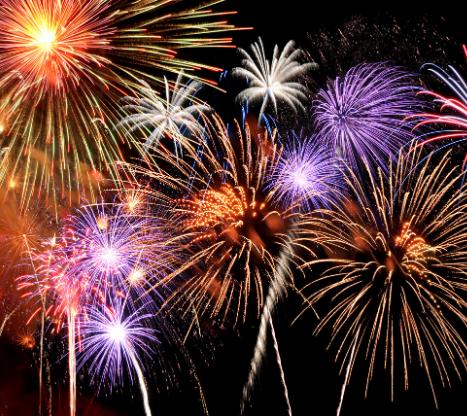 fireworks for news story