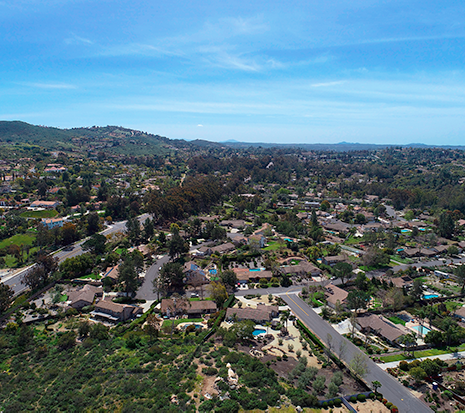 North Poway neighborhood