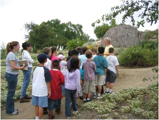 Kumeyaay-Ipai Interpretive Center Student Tour with Sandee Horan
