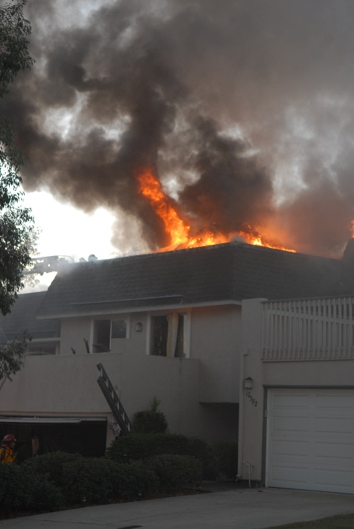 Cree Drive Fire in 2007 2