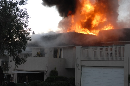 Cree Drive Fire in 2007