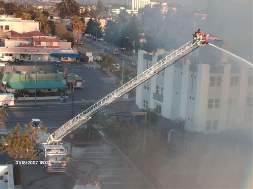 High-Rise Fire in Escondido