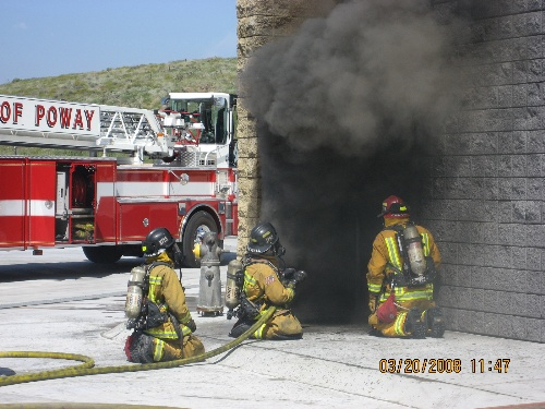 Live Fire Training at the Poway Training Tower 3