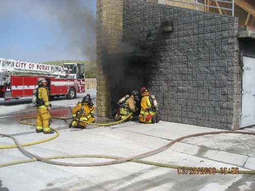 Live Fire Training at the Poway Training Tower
