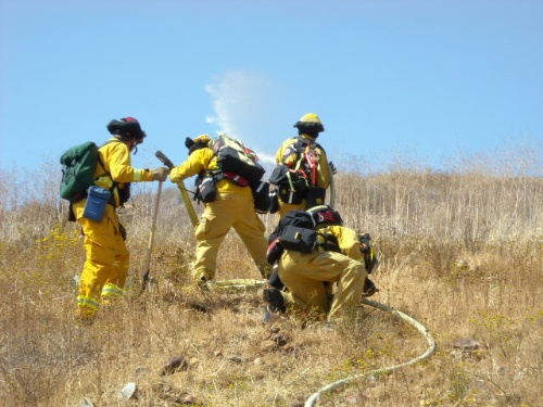 Wildland Hose Evolutions